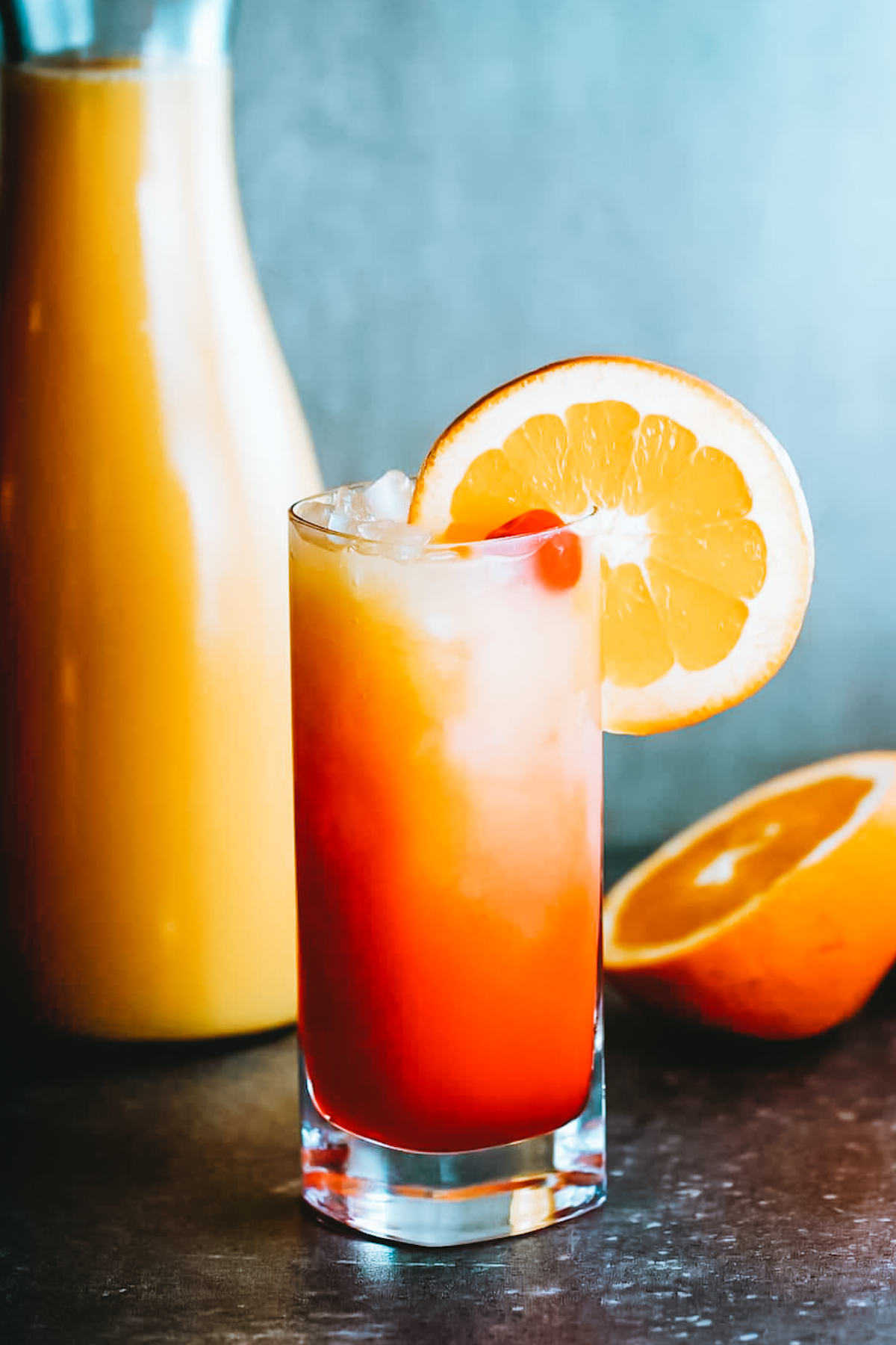 A Beautiful Brunchtime Beverage – Tribe's CBD Tequila Sunrise