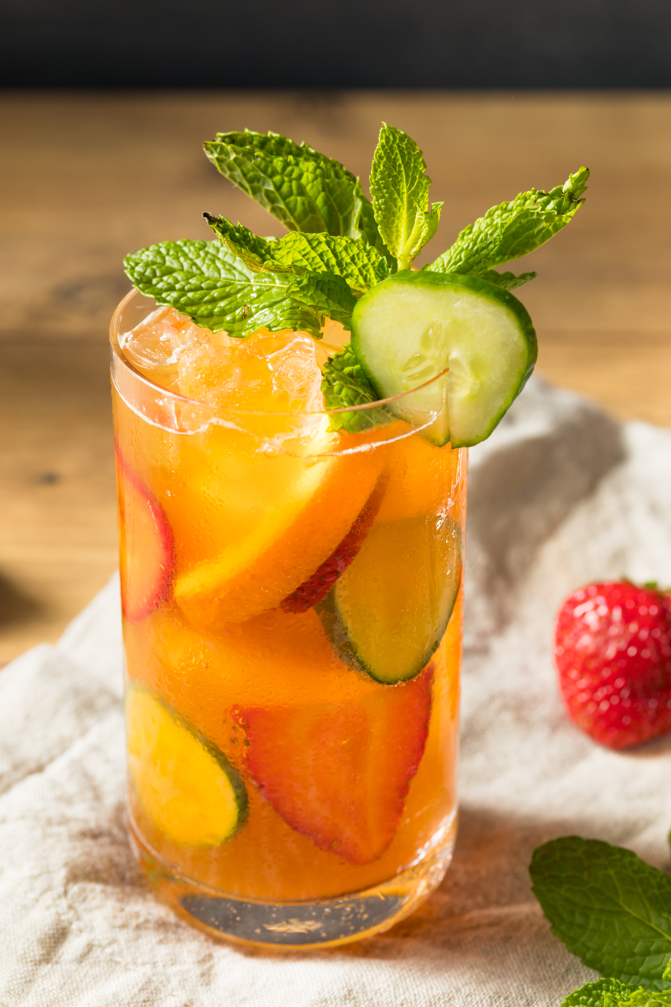 Whet Your Whistle At Wimbledon — Tribe's CBD Pimm's Cup Cocktail