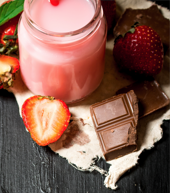 A Sweet Summertime Shooter — Tribe's CBD Chocolate Strawberry Shots